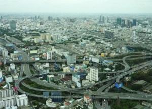 Views from Baiyoke Sky Tower Hotel Things to do in Bangkok Thailand