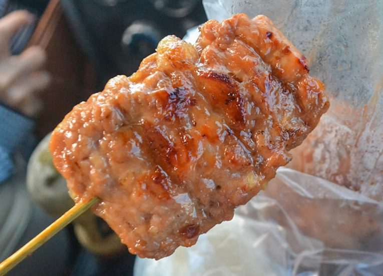 Moo Ping Grilled Pork Skewers Bangkok Street Food in Thailand (1)
