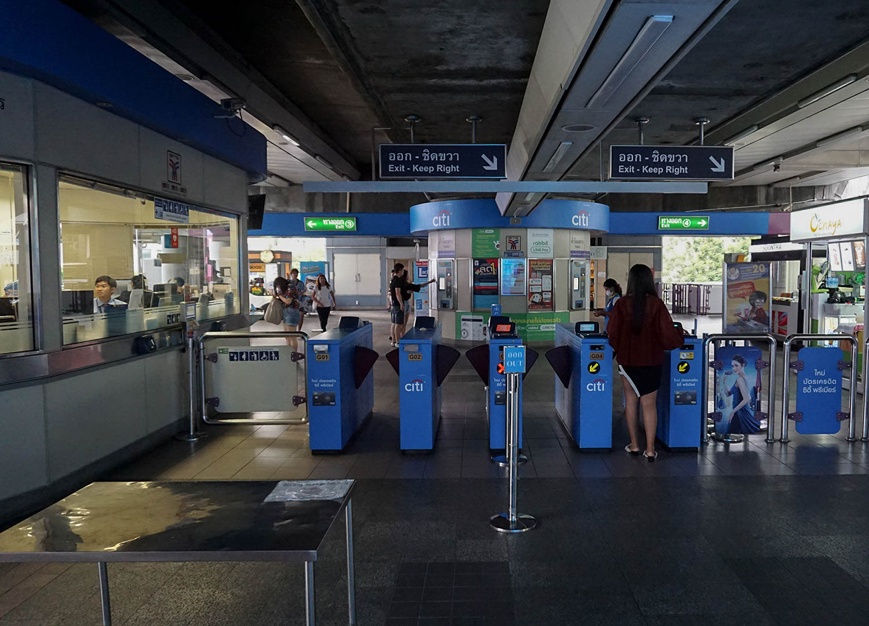 BTS Skytrain Stations in Bangkok Thailand (2)