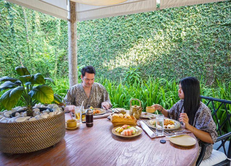 Fanfan and Allan Wilson Private Pool Villas at Kayumanis Sanur Luxury Resort in Bali