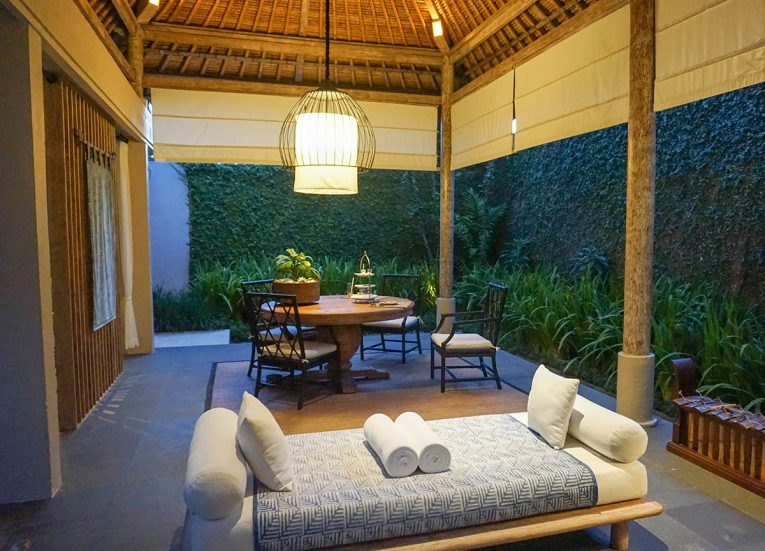 Open Air Gazebo Private Pool Kayumanis Sanur Villas and Spa
