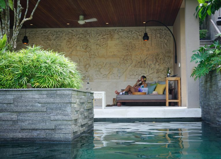 The Bulan Pool Villa Suite Luxury Pool Villas at HOSHINOYA Bali Ubud Resort (23)