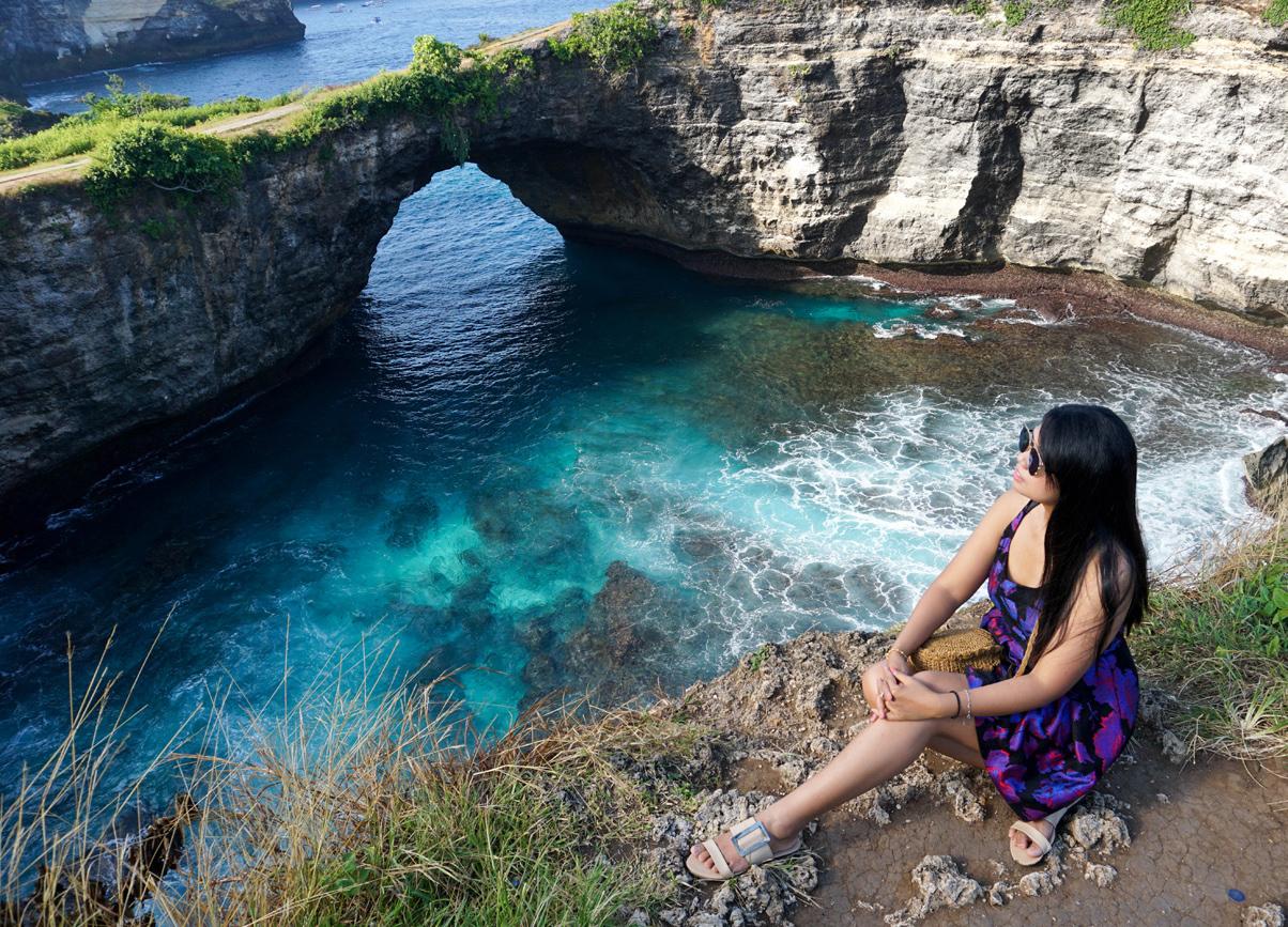 Broken Beach Nusa Penida in Bali Indonesia