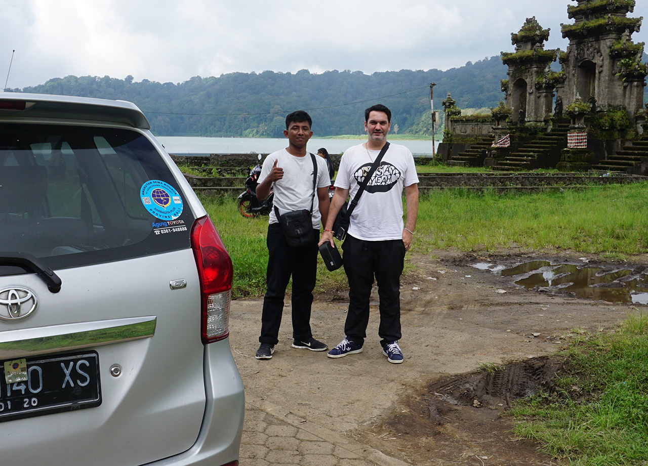Where to Stay in Bali. Klook Tour Drivers in North Bali in Indonesia