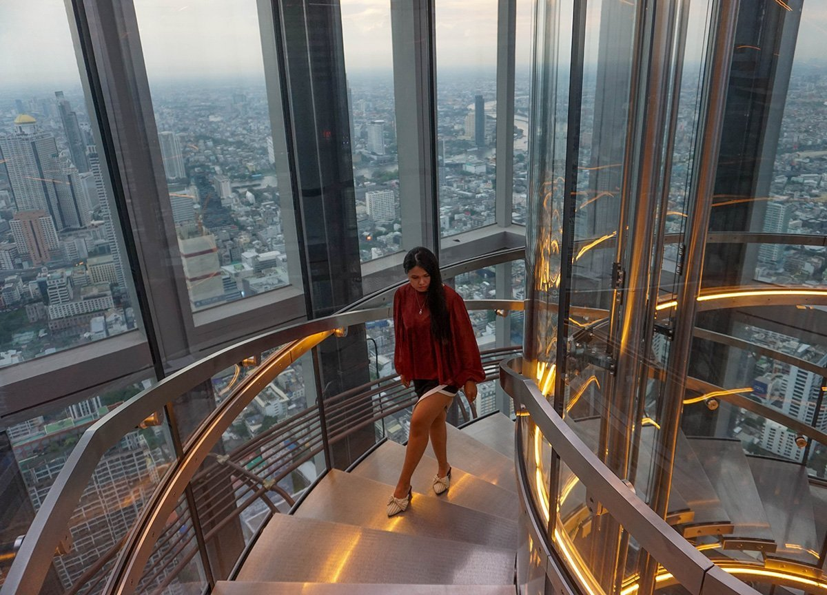 Tallest Building in Bangkok,  New Tourist Attractions in Bangkok