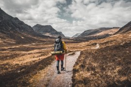 West Highland Fort William Glencoe. Walking Trails in Scotland