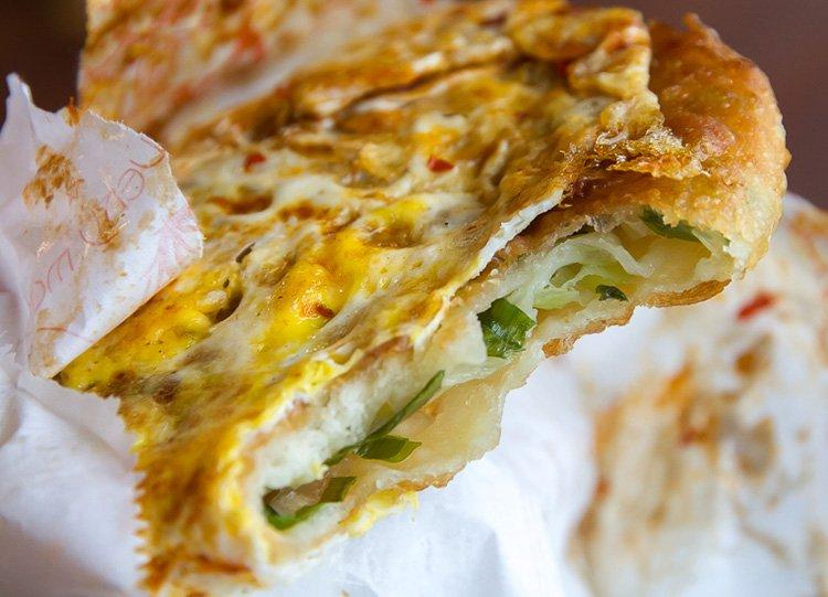 9-green-onion-cake Regional Street Food in Taiwan