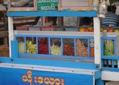 Som Tam Cart, Best Som Tam Papaya Salad Thailand Thai