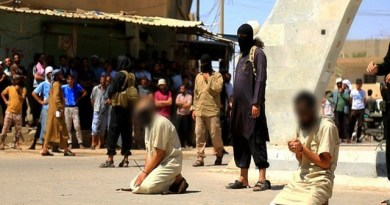 LLL - Live and Let Live - ISIS executes 5 Iraqis individuals for helping civilians to flee