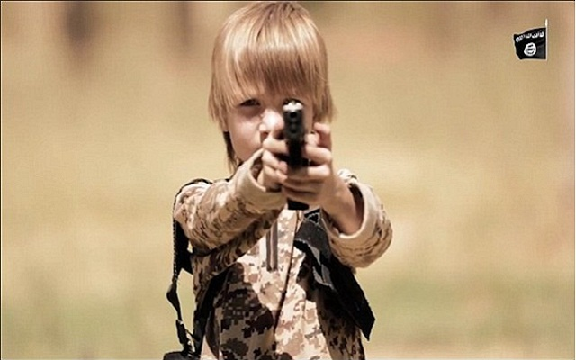 LLL - Live and Let Live - ISIS releases new video showing an angelic-looking child forced to shoot a prisoner in the head