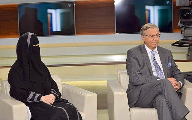 LLL - Live and Let Live - Germany's public television allowed Muslim woman in full niqab wear to praise Islamists who join the terrorist group in Syria