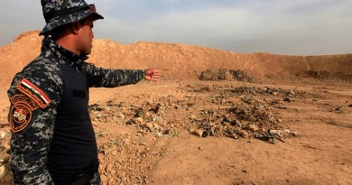 LLL - Live and Let Live - ISIS militants executed at least 300 policemen in Iraq, buried them in a mass grave