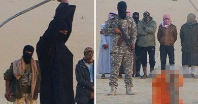 LLL - Live and Let Live - ISIS savages abduct and behead 100-year-old blind priest for 'witchcraft'