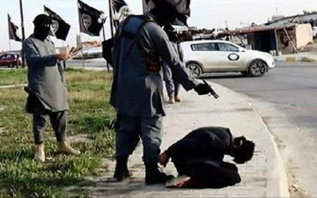 LLL-Live Let Live-ISIS militants execute three civilians in Raqqa on charges of spying against the terrorist group