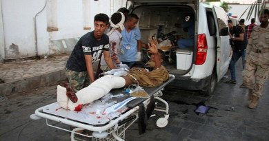 LLL-Live Let Live-ISIS suicide bomber kills 35 Yemeni soldiers at a military camp in Aden