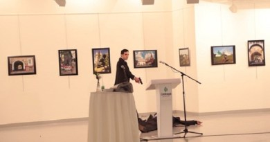 LLL-Live Let Live-Russian ambassador killed in Ankara after being fatally shooted 5 times by a gunman saying Allahu Akbar