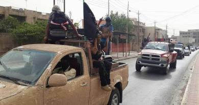 LLL-Live Let Live-Sinai branch of ISIS cuts off roads to trucks carrying goods to the Gaza Strip