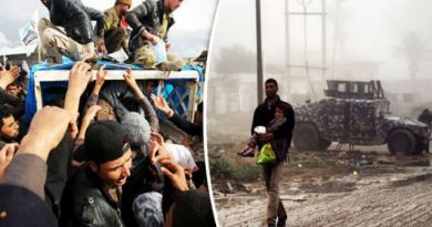 LLL-Live Let Live-Desperate ISIS forces boys to fight and shoot families as 320,000 people flee Mosul