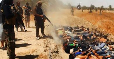LLL-Live Let Live-ISIS executed over 500 Iraqi prisoners, dumped them in mass graves west of Mosul