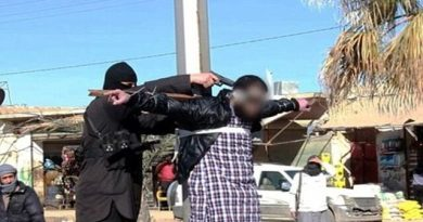 LLL-Live Let Live-ISIS terrorists execute a rebel agent in Yarmouk Camp in Damascus
