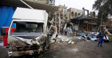 LLL-Live Let Live-Islamic State claims responsibility after 27 killed in Baghdad blast