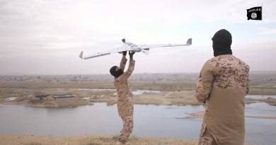 LLL-Live Let Live-ISIS has an army of drones that drop explosives