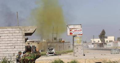 LLL-Live Let Live-ISIS militants launch multiple chemical weapons attacks on Iraqi troops