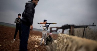 LLL-Live Let Live-ISIS terrorists storm rival group's defense lines at Damascus-Homs border
