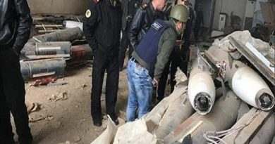 LLL-Live Let Live-ISIS weapons cache discovered in Western Mosul