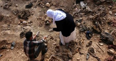 LLL-Live Let Live-Yezidi mass graves discovered so far contain 1,646 people