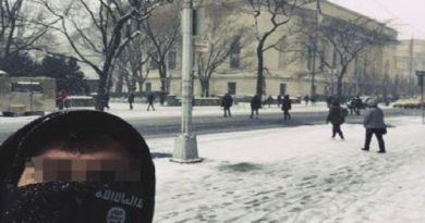 LLL-Live Let Live-ISIS terrorist takes selfie in front of New York's Met museum after the group called for more lone wolf-style knife and bomb attacks