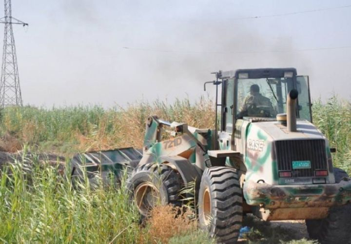LLL-Live Let Live-Hashd al-Shaabi militias are bulldozing civilian houses to ground in Hawija