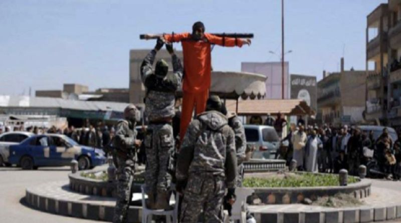 LLL-Live Let Live-Islamic State crucifies youths in Yarmouk camp in Damascus