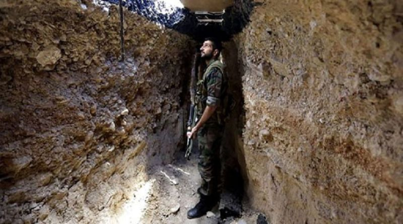 LLL-Live Let Live-Syrian army forces uncover long network of ISIS's tunnels in Deir Ezzur