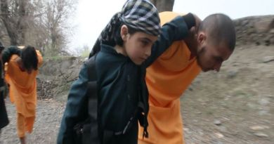 ISIS branch in Afghanistan releases photos of small children participating in executions