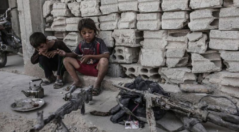 LLL - Live Let Live - Islamic State terrorists use hundreds of brainwashed children as fighters