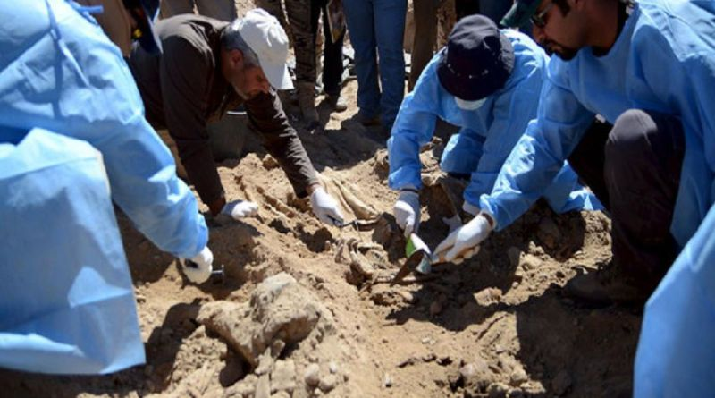 LLL - Live Let Live - Mass grave with remains of six people killed by ISIS terrorists found in Hawija