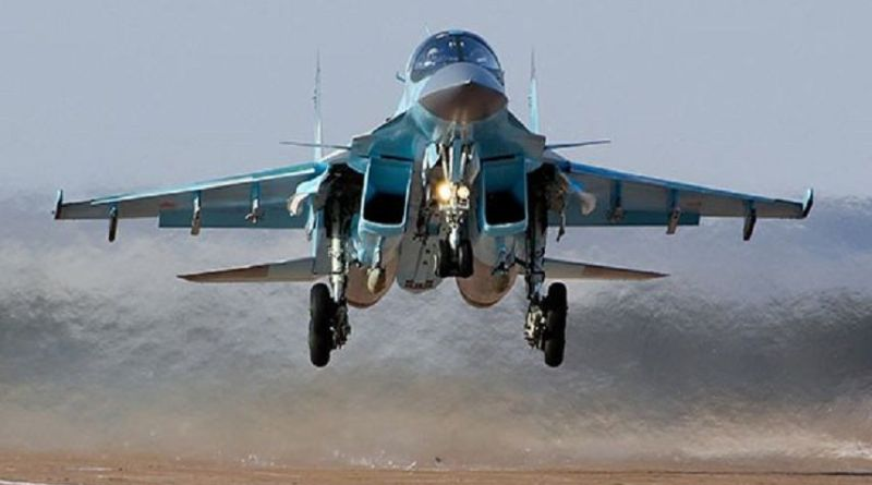 LLL - Live Let Live - Russian planes pound ISIS's strongholds in Eastern Syria