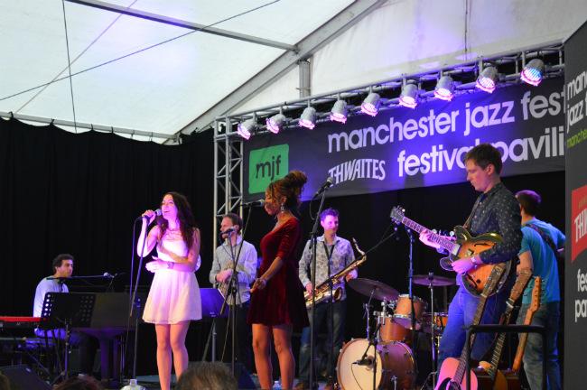 Kristyna Myles at Manchester Jazz Festival 2014