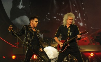 image of Queen and Adam Lambert