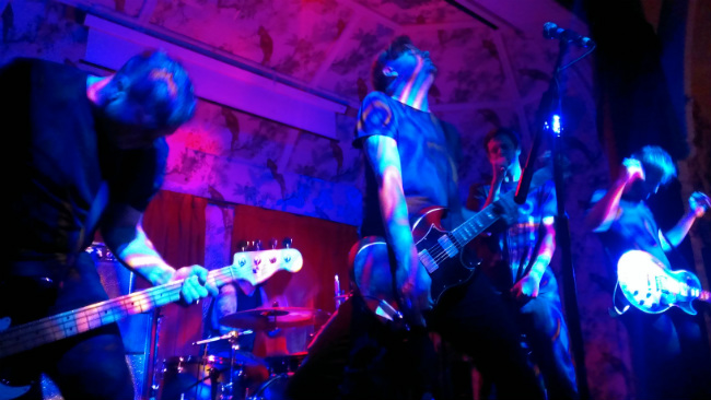 Lonely The Brave at The Deaf Institute 1 October 2014