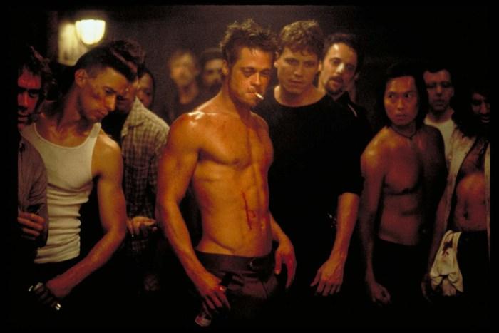 image of Brad Pitt in Fight Club