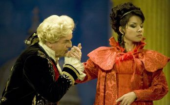 Production shot from Tosca