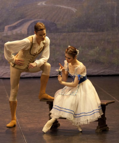 The Northern Ballet School production of Giselle at The Dancehouse 10 - 12 December 2015