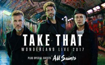 Take That - Wonderland Live