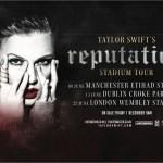 Taylor Swift will headline at the Etihad Stadium Manchester