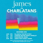 Manchester music - James and The Charlatans will headline at Manchester Arena