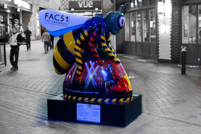 Manchester FAC51 Bee at The Printworks