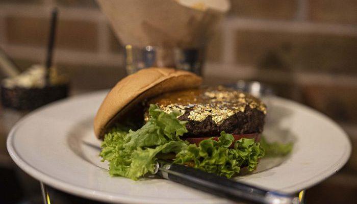 Manchester Hard Rock Cafe at The Printworks is serving a 24 karat gold leaf steak burger