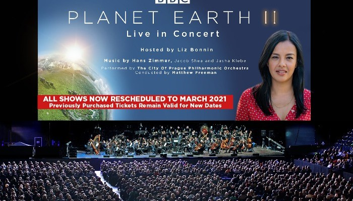 promotional image of Planet Earth II Live in Concert at Manchester Arena